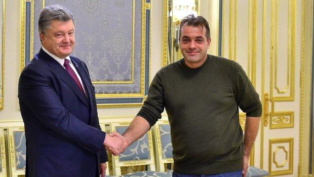 Петро Порошенко і Юрій Бірюков