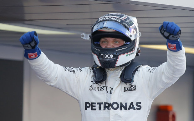 Скажений фін переміг у кваліфікації Гран-прі Росії