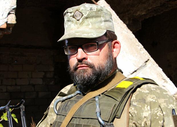 Военнослужащий Роман, фото: facebook.com/pressjfo.news
