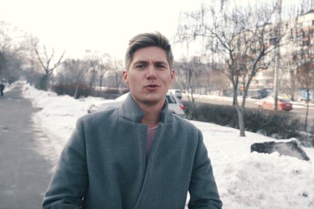 Владимир Остапчук, кадр из клипа-пародии