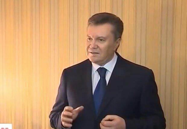 Виктор Янукович, кадр из видео