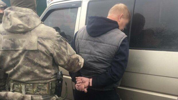 затримання злочинця, фото: поліція Київської області