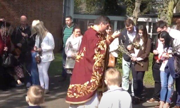 Вербна неділя, скріншот із відео