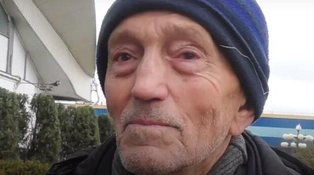 Пенсионер, скриншот: Youtube