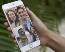 Груповой видеозвонок в FaceTime