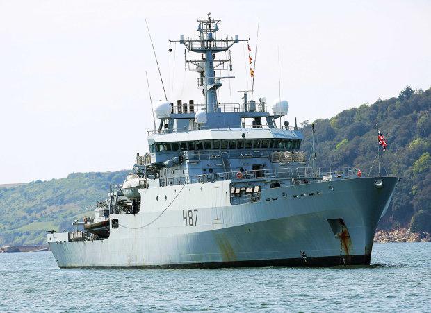 Корабль-разведчик НАТО прибыл в Одессу: опубликованы фото