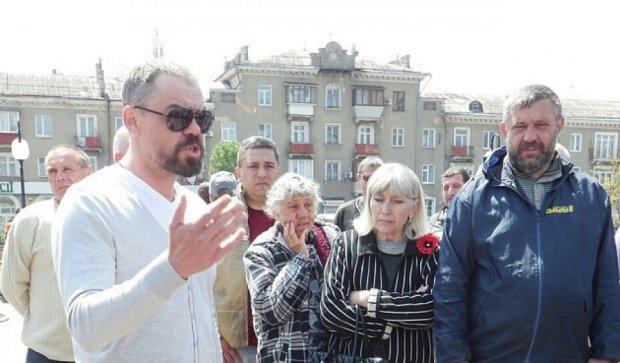 На Майдані в Бердянську вимагають відставки мера
