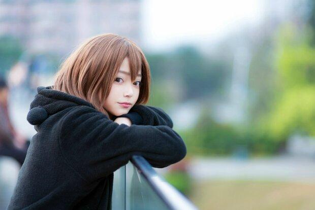 Девушка, фото Pikabu