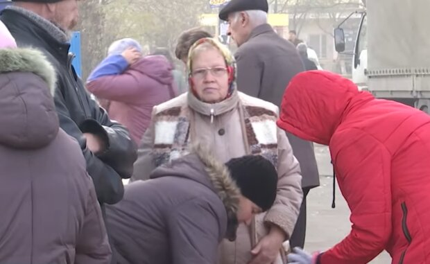 Пенсионеры, кадр из видео