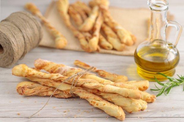 Рецепт хлебных палочек с маком: постная кухня