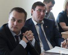 Холодницкий и Луценко