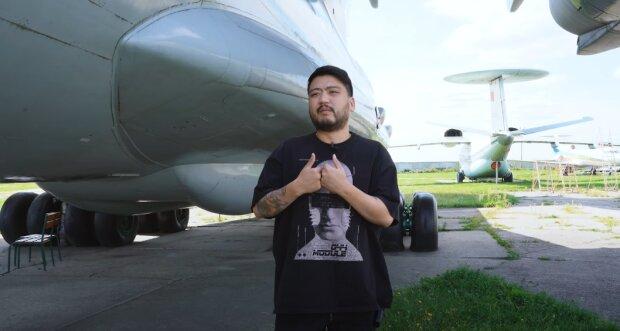 Юрий пережил авиакатастрофу, скриншот из видео