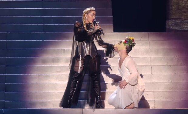 Мадонна, скріншот YouTube