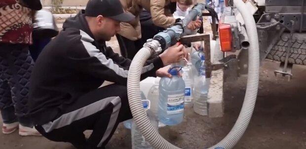 Проблемы с водой в Крыму, скриншот: Youtube