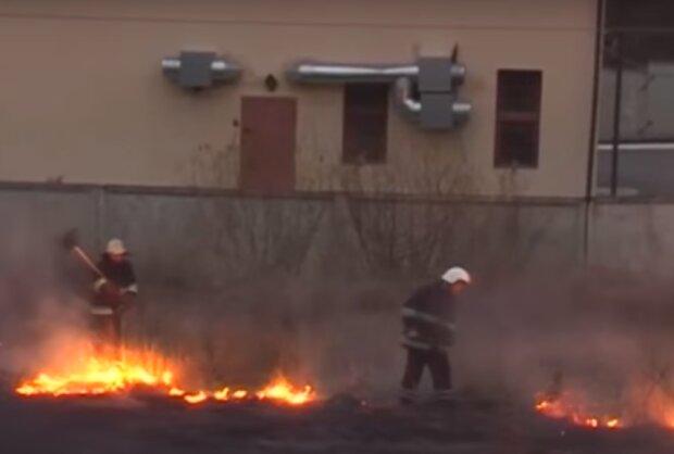 пожежа, скріншот з відео