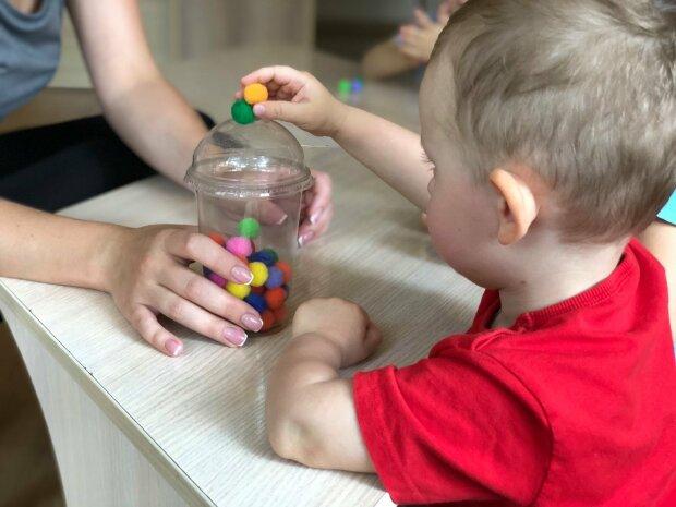 """Заняття для дітей з особливостями розвитку в садку """"Дитина з майбутнім"""""""