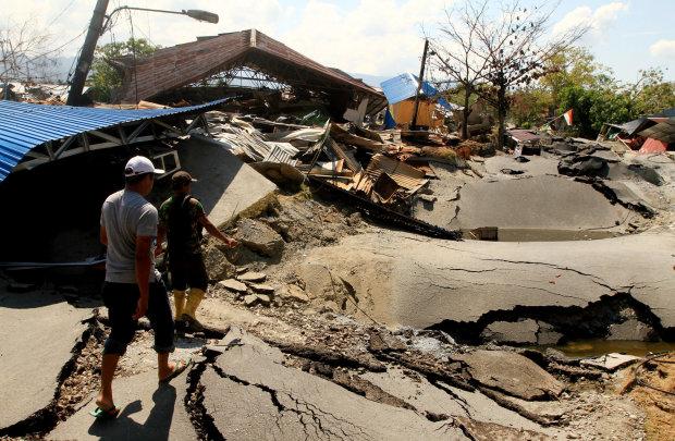 землетрус і цунамі в Індонезії