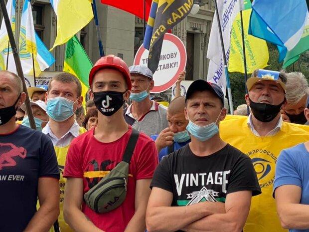 митинг шахтеров в Киеве \\ фото 112