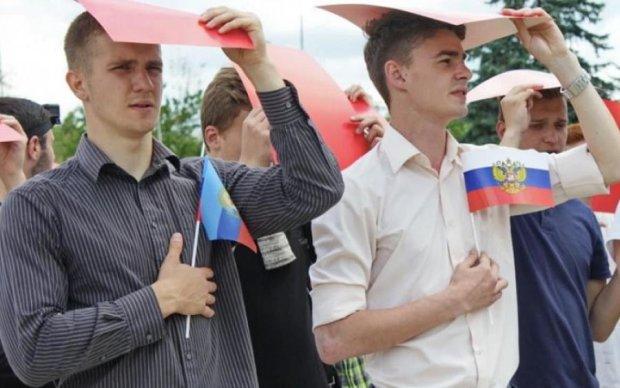 "Идиотский ритуал в ""ЛНР"" довел соцсети до истерики"