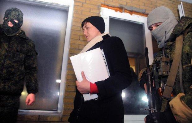 """Боевик """"слил"""" подробности пребывания Савченко на Донбассе"""