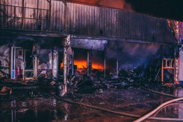 У Києві величезну територію охопило некероване полум'я, рятувальники на межі: фото з пекла
