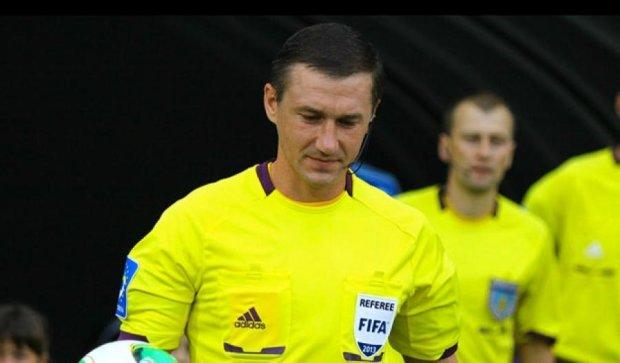 Украинский судья будет работать на матче Лиги Европы