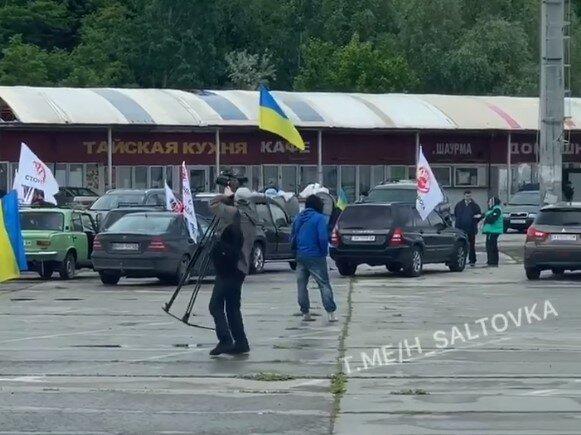 """У Харкові бізнесмени протестують проти знесення """"Барабашово"""", але Кернеса вже не зупинити"""
