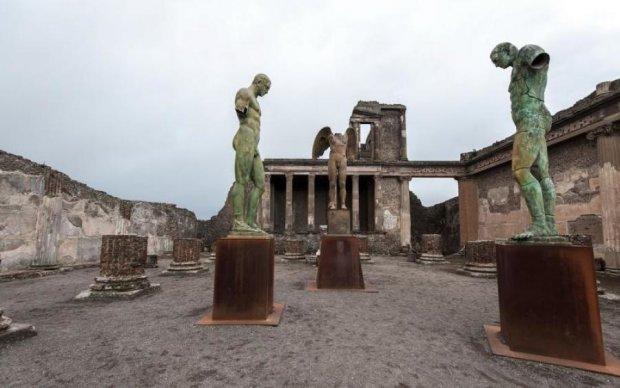 Найден юный свидетель последнего дня Помпеи