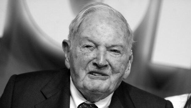 Старейший миллиардер Дэвид Рокфеллер\ Архивное фото