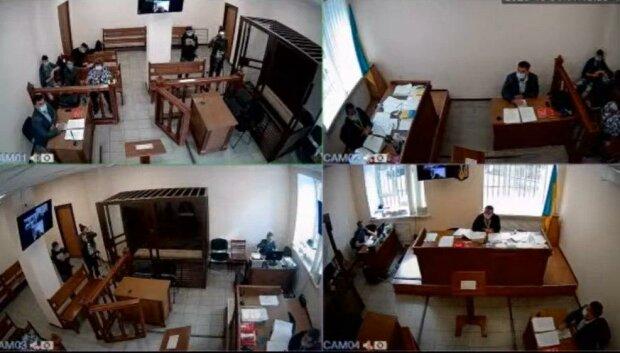 засідання суду у справі Гандзюк, скріншот з відео