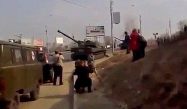 Боевики ведут обстрел из жилых кварталов