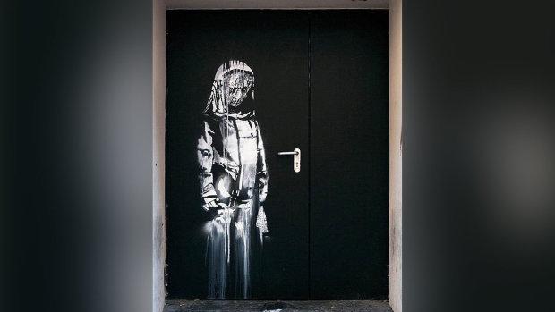 Культовую картину легендарного Бэнкси вырвали вместе со стеной: нами движет негодование