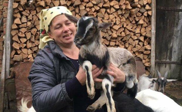 """Тернополянка з козами стала зіркою YouTube: """"Киця, біла і Мурза-справжні моделі"""""""