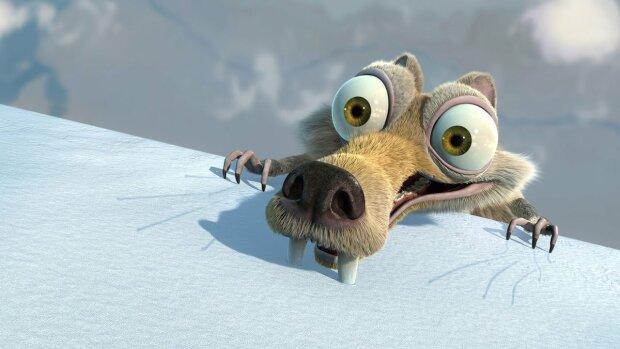 """Кадр з мультфільму """"Льодовиковий період"""", скріншот: YouTube"""