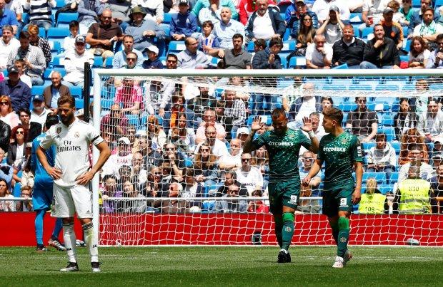 Реал Мадрид проти Бетіса: принизлива поразка в останньому матчі сезону