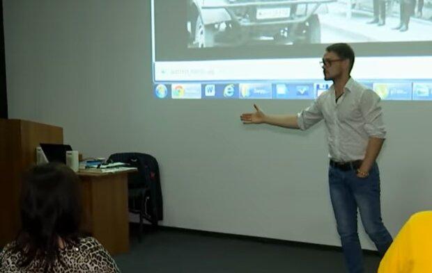 Олег Андрухив, кадр из репортажа ТСН: YouTube