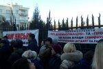 Романенко виступив на мітингу біля Офісу Президента