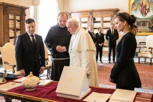 Папа Римский и Владимир Зеленский, фото: Facebook