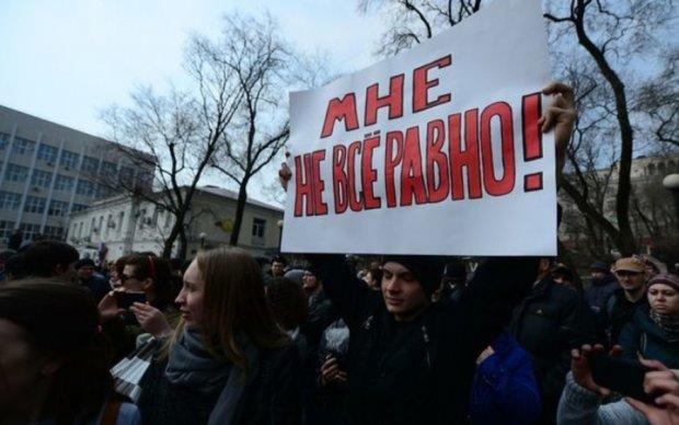 Количество задержанных в Москве выросло до 800