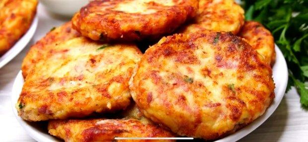 Картопляні відбивні, фото: скріншот з відео