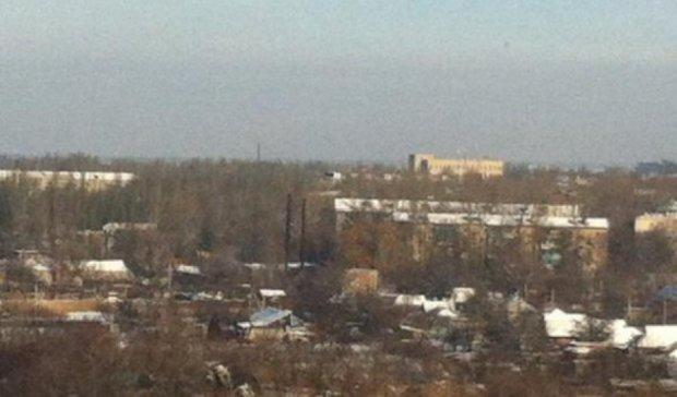 В Донецьку повідомляють про сильний вибух