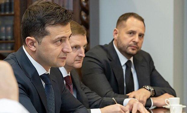 Владимир Зеленский и Андрей Ермак, фото: пресс-служба ОПУ
