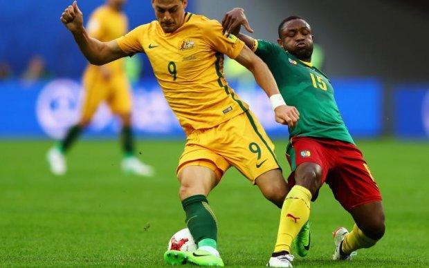 Камерун - Австралія 1:1 Відео голів та огляд матчу