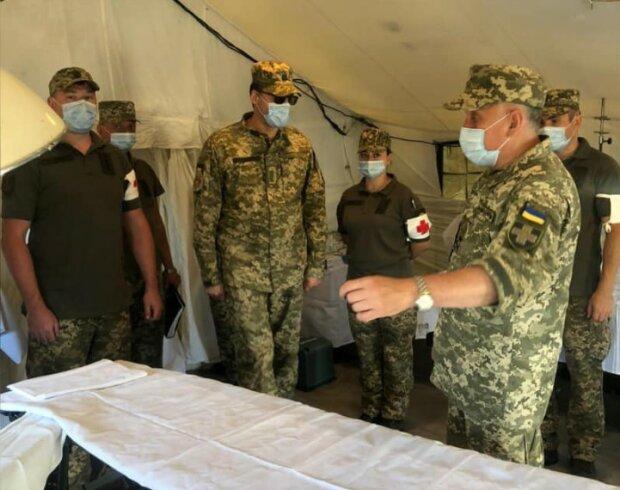 Медицинские силы Вооруженных Сил Украины, фото с фейсбук
