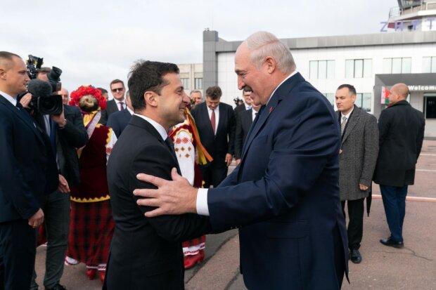 Владимир Зеленский и Александр Лукашенко, president.gov.ua