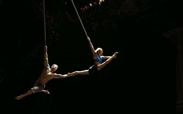 Страшный полет: цирковой акробат сорвался с огромной высоты