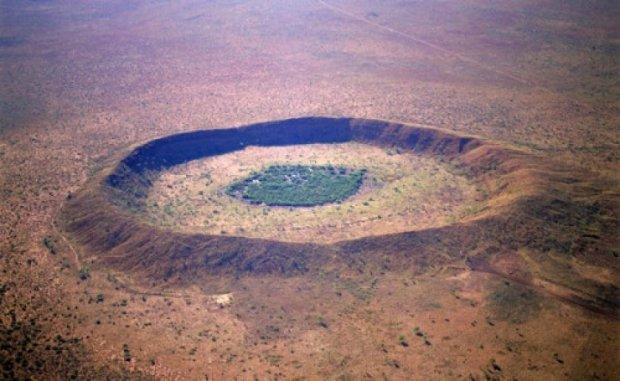 В Австралии найшли самые большие метеоритные кратеры