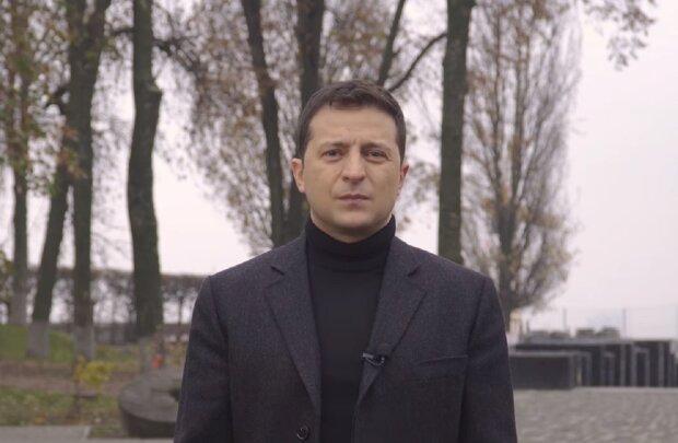Владимир Зеленский, скриншот видео