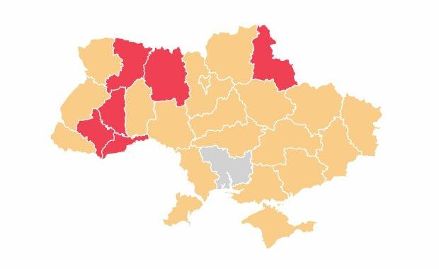 Поширення коронавірусу в Україні станом на 29 березня, zpost.me
