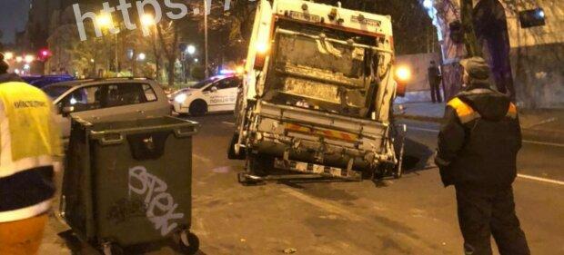 Сміттєвоз, фото: Київ зараз